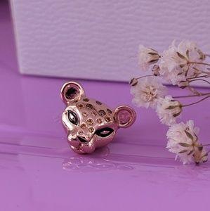 Pandora Rose Sparkling Lionness Charm